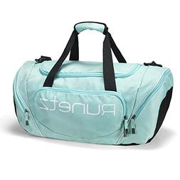 blue gym bag shoulder