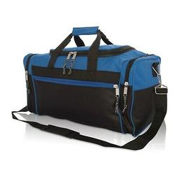 Brand New Duffle Bag Duffel Bag Large in Royal Blue and Blac