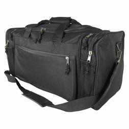 DALIX Brand New Duffle Bag Sports Duffel Bag in Black Gym Ba