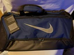 Nike Brasilia Medium Duffle Bag Gym - Navy - New With Tag -