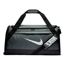 brasilia medium training duffel bag grey new