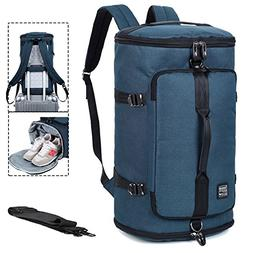 Travel Business Laptop Backpack 3-Way Water Resistant Duffel