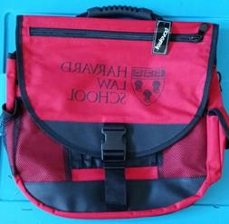 Harvard Law School/Business Red Messenger Book Laptop Duffle