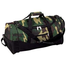 "23"" CAMO Water Repellent Tote Bag Duffle Gym Carry On Should"