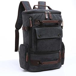 Yousu Canvas Backpack, Mens Large Travel Duffel Bags Fashion