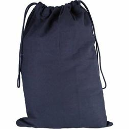 "Canvas Laundry Bag, Black, 18"" x 27"