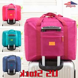 Carry-On Duffle Bag Luggage Storage Bags Waterpoof Foldable