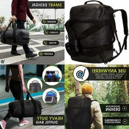 Bago Carry On Traveling Backpack Duffle Bag 3 Way Duffel For