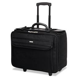 "Solo B1514 Classic Rolling Catalog Case, 17.3"", 18"" x 7"" x 1"