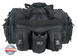 "CJ Gear 22"" Inch Black Molle Tactical Organizer Duffle Duffe"