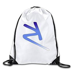 Classic K Logo Unisex Fasion Drawstring Shoulder BackpacksCa