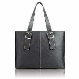 "Solo Classic Womens 15.6"" Laptop Tote Black K710-4"