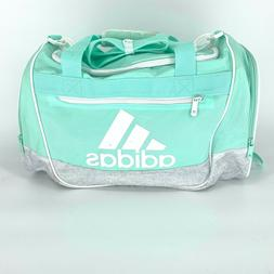 CLEAR MINT WHITE adidas Defender III Small Duffle Bag