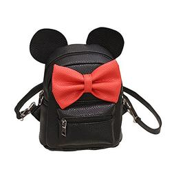 Wobuoke Cute Mickey Backpack Female Mini Bag Women's Backpac