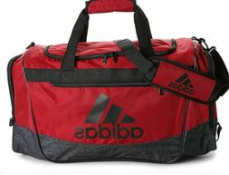 Adidas Defender III Medium Gym Duffel Bag   $40  Red  Save 3