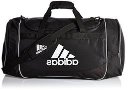 Adidas Defense Large Duffel Black Fresh Pak Pocket Team Trai
