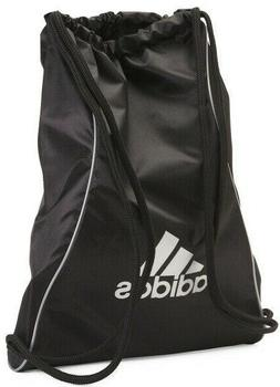 Adidas Block Il BLACK SILVER Sackpack Sling Backpack School