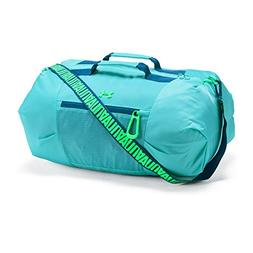 Under Armour Girls' Downtown Duffle, Tropical Tide /Arena Gr