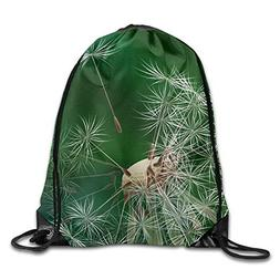 Drawstring Bags Gym Bag Travel Backpack, Sleeping Lion In Sk