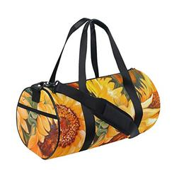 OuLian Duffel Bag The-Sunflowers Women Garment Gym Tote Bag