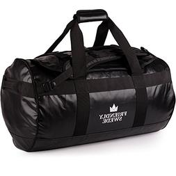 Canway 65L Travel Duffel Bag, Foldable Weekender Bag with Sh