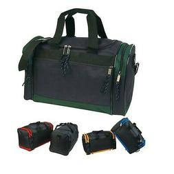"""Casaba Duffle Bag 17"""" Travel Carry On Size Luggage Sports Gy"""