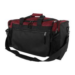 Dalix 20 Inch Sports Duffle Bag with Mesh and Valuables Pock