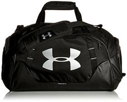 Under Armour Duffle Bag Travel Gym Black  Water Resistant Sh