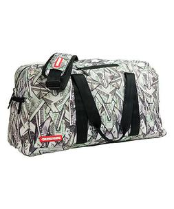 sprayground DUFFLE DUFFEL BAG LAPTOP ORIGAMI MONEY new WITH