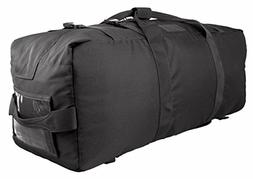 Red Rock Outdoor Gear Explorer Duffle Pack, Black