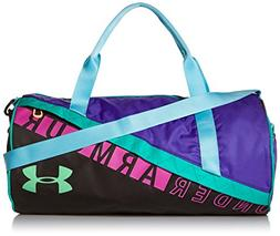 Under Armour Girls' Favorite Duffle 3.0, Black /Green Typhoo