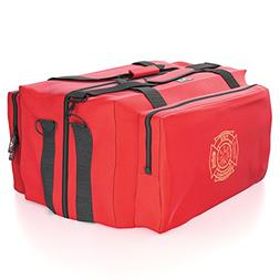 Firefighter Fire Gear Bag - Reinforced, Water Resistant, Del