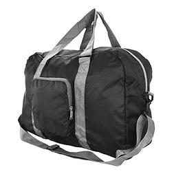 DALIX Foldable Travel Bag Packable Duffle Duffel Bag Carry O