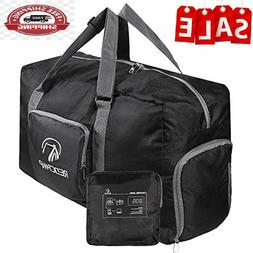 REDCAMP Foldable Small Duffle Bag with Shoe Compartment, 45L