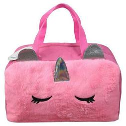 furry duffle bag 17 inches new
