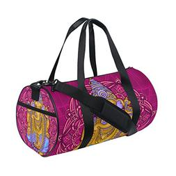 Ganesh Ganesha Sports Duffel Bags, Travel Gym Fitness Bag