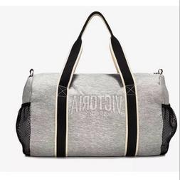 Victoria Sport VS Gray Fleece Duffel Bag
