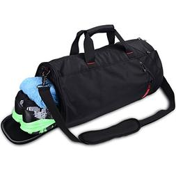 "LEADO Gym Bag 20"" Large Duffel Travel Duffle Bag for Men & W"