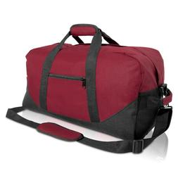 DALIX Large Gym Bag Duffle Travel Duffel for Men Womens Gym