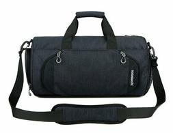 Gym Sports Small Duffel Bag for Men and Women with Shoes Com