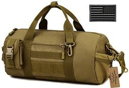 ArcEnCiel Mens Gym Pack Military Duffle Molle Tactical Cargo