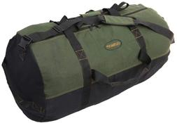 Ledmark Heavyweight Cotton Canvas Outback Duffle Bag, Green,
