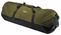 heavyweight cotton canvas outback duffle