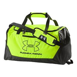 Under Armour Hustle-R Small Duffel Bag, Black , One Size
