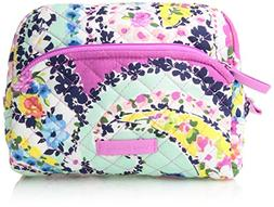 Vera Bradley Iconic Medium Cosmetic, Wildflower Paisley