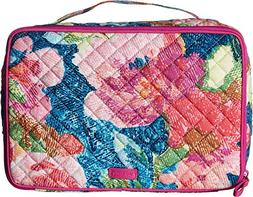 Vera Bradley Iconic Large Blush & Brush Case, Signature Cott