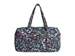 Vera Bradley Iconic Large Travel Duffel, Signature Cotton, B