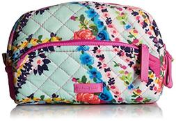Vera Bradley Iconic Mini Cosmetic, Signature Cotton, Wildflo
