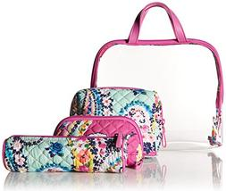 Vera Bradley Iconic 4 Pc. Cosmetic Set, Signature Cotton, Wi