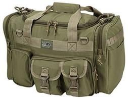 "Mens 18"" Inch Tan Duffel Duffle Molle Tactical Carry On Shou"